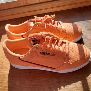Adidas Continental 80 Orange White US Mens Size 9